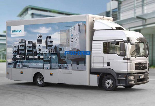 Филкаб посрещна демонстрационния камион SIRIUS на Siemens в Пловдив