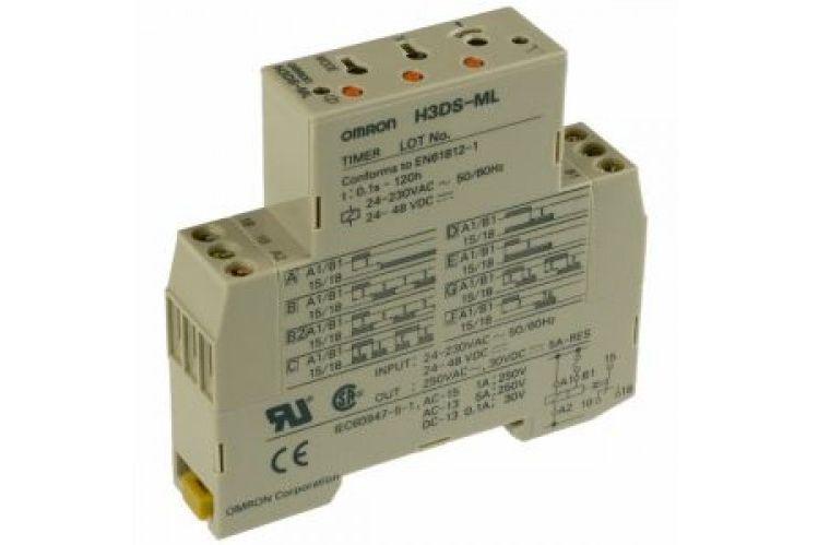 Мултифункционален таймер Omron H3DS-ML AC/DC