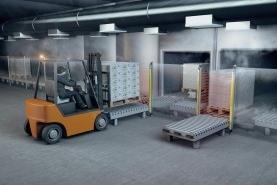 Нови завеси за безопасност при минусови температури от Leuze electronic