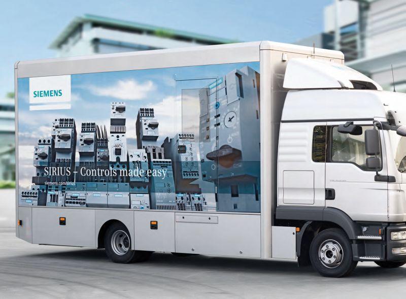 Филкаб отново посреща демо камиона SIRIUS на Siemens в Пловдив