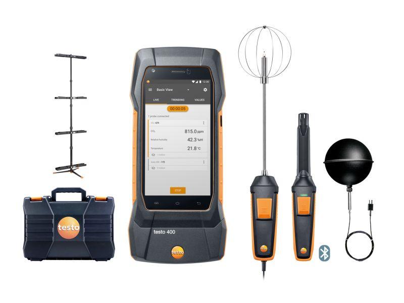 Новият <strong>test</strong>o 400 – многофункционален смарт уред за вентилация, климатизация и работна среда