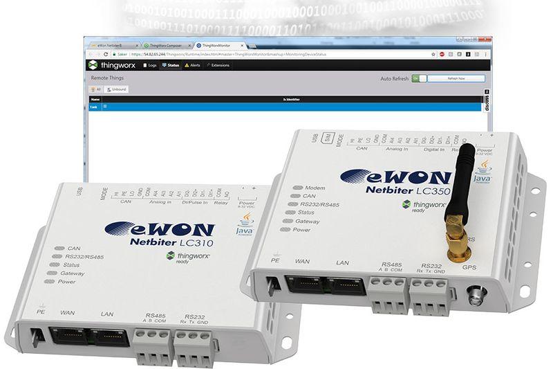 Нов гейтуей eWON Netbiter LC на HMS Industrial Networks