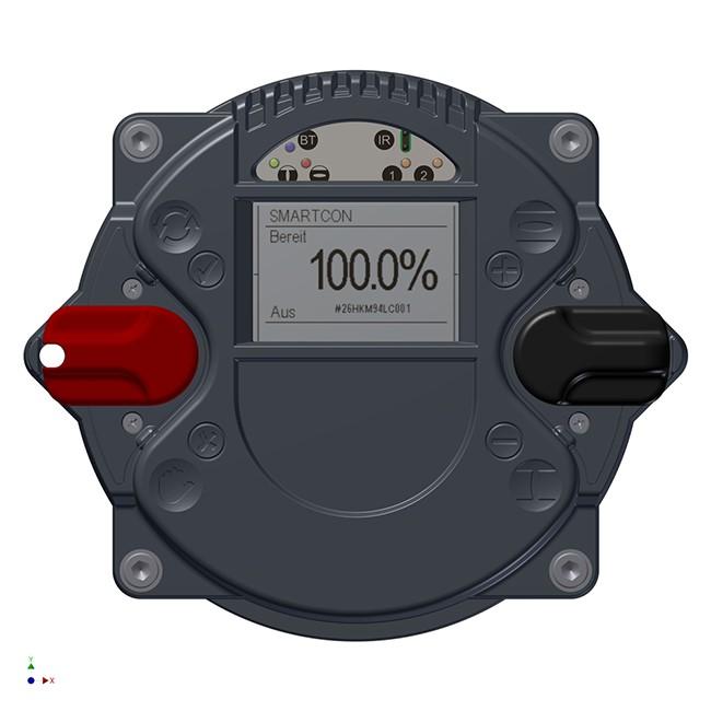 Задвижващи устройства от серията CM с интегриран блок за управление SMARTCON
