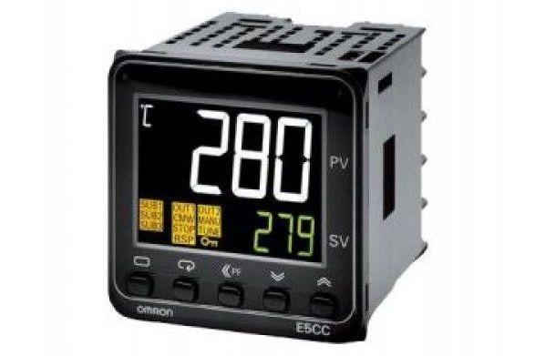 Температурни регулатори E5CC от Omron
