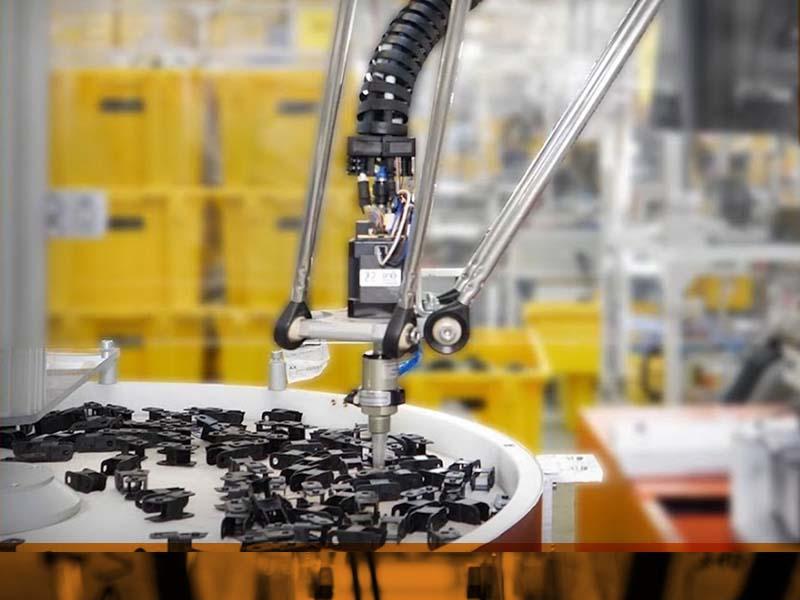 Лека и ценово изгодна модулна система за делта роботи