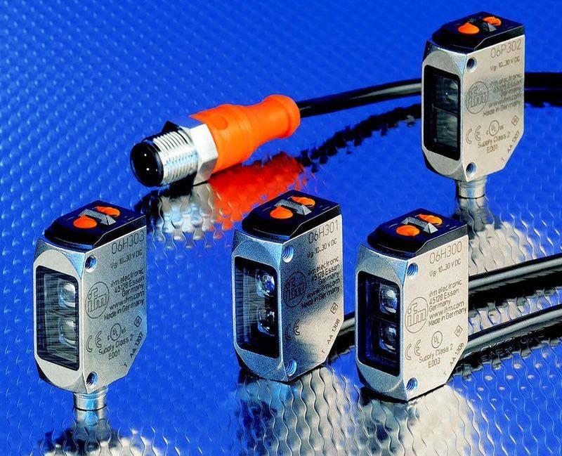 Високопроизводителни фотоелектрични сензори O6 WetLine