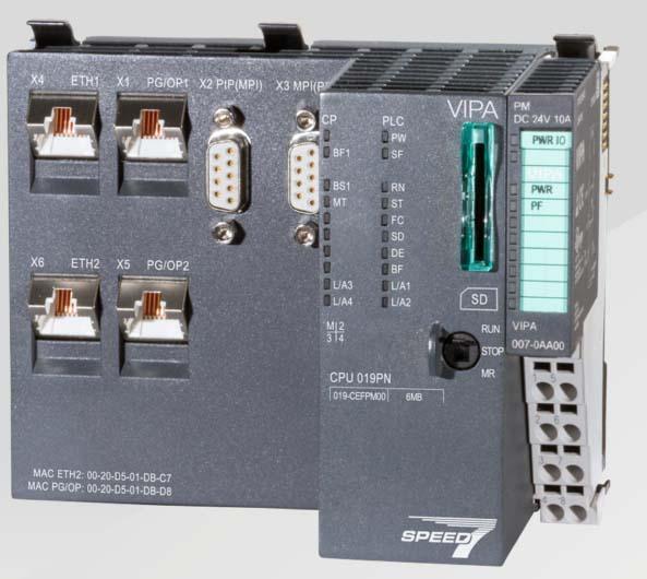 Нов процесор от серията SLIO от Yaskawa Controls