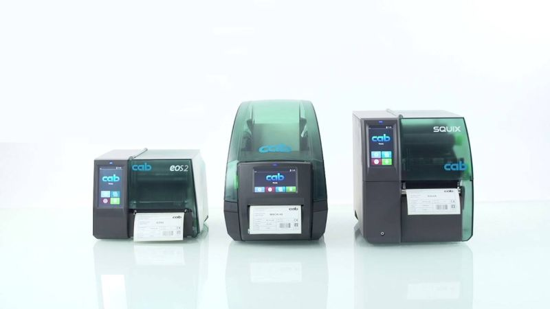 Етикетни принтери CAB - немско качество на преференциални цени