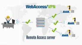 Отдалечен достъп с платформата WebAccess/VPN на <strong>Advantech</strong>