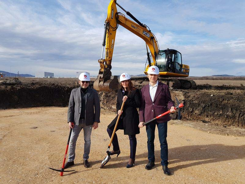 Стартира строителството на новата сграда на Бетелгиус