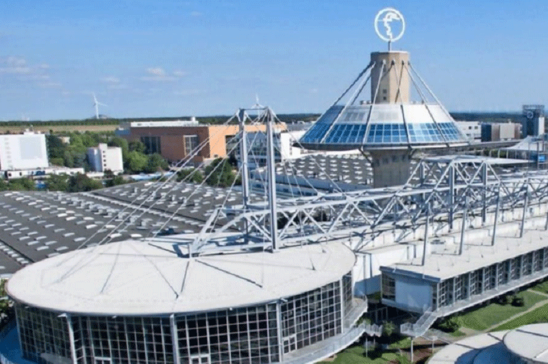 Високоиновативен 5G кампус в изложбения център в Хановер