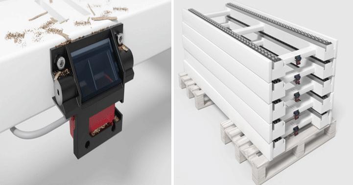 Иновативни монтажни скоби за серията сензори 25C на Leuze