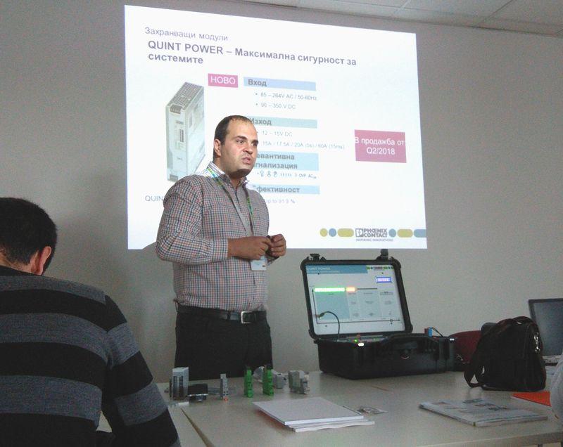 ВиВ Изоматик презентира новости за Industry 4.0 от Phoenix Contact