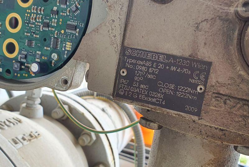 Техническо и гаранционно обслужване на електрически задвижки <strong>Shiebel</strong>