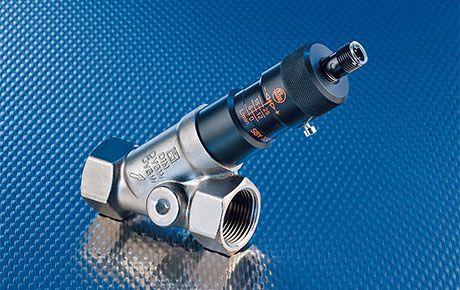Мехатронен сензор за обемен поток вода