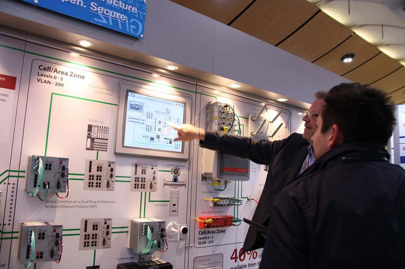 Rockwell Automation акцентира върху цифровата трансформация и индустриалния интернет   на Hannover Messe 2017