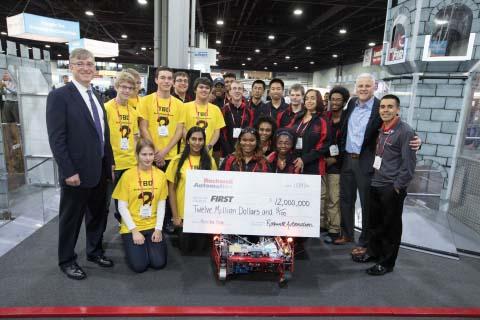 Rockwell Automation насърчава младите хора да участват в науката