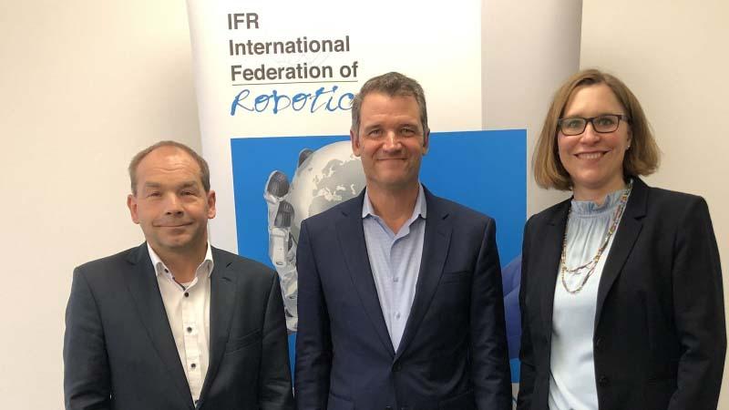Международната федерация по роботика с нов президент