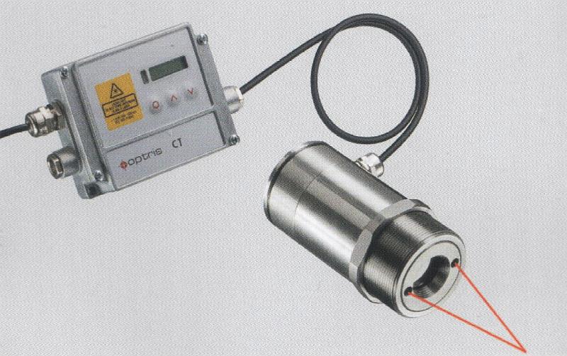 Безконтактни термометри за горящи газове